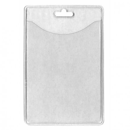 Flexible Badge Holder - Vertical