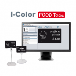 I-Color FOOD Tags