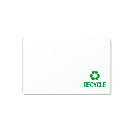 Carte PVC recyclé